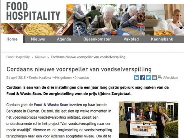 Publicatie: Food Hospitality