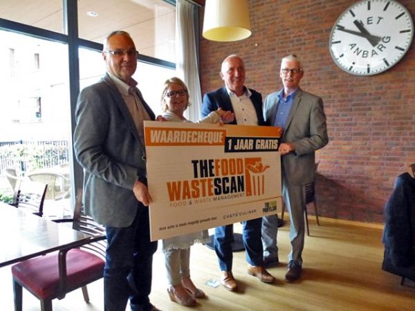 Ook Avoord (Het Anbarg) gaat werken met de Food & Waste Scan