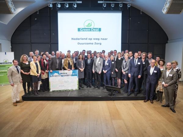 Persbericht: Green Deal Duurzame Zorg